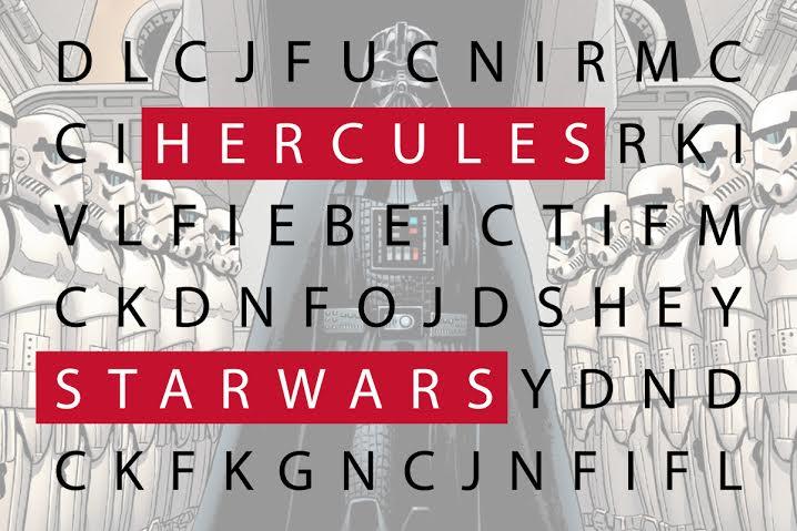 Sopa de letras – Películas